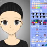 スクラッチ作品紹介 3 Anime Character Maker(girl) 作者 AnaniAnime