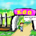 スクラッチ作品紹介 15 どうぶつ☆パズル(Zoo Animals☆Puzzle)作者 akamaru_prg